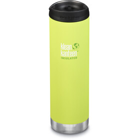 Klean Kanteen TKWide Bottle with Cafe Cap 592ml Vacuum Insulated juicy pear (matt)
